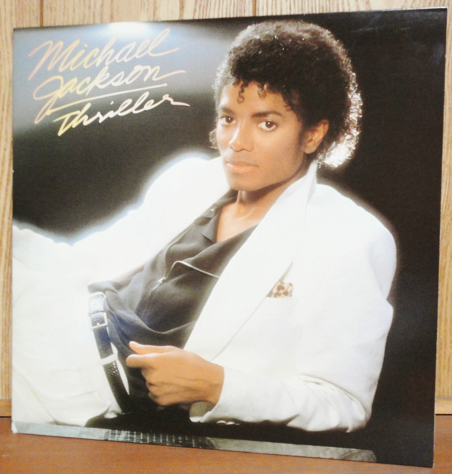 michael jackson thriller album in Jackson, Michael