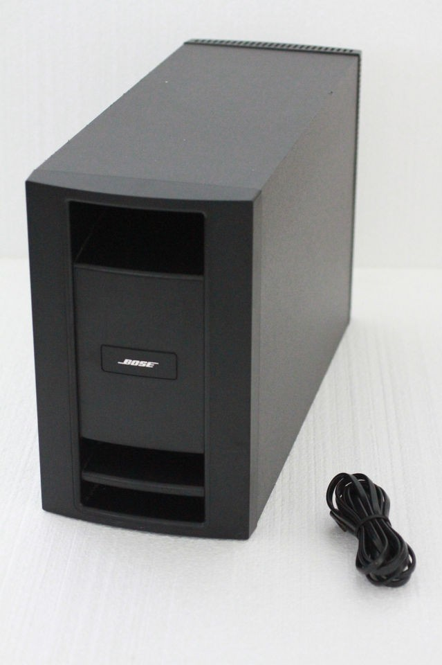 Bose lifestyle ps28 series iii subwoofer for dual voltage t20 v25 28