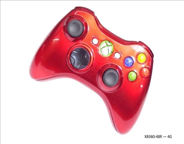 Xbox 360 Red Chinazo 70+ Mode Prog Rapid Fire Controller for Gears Of