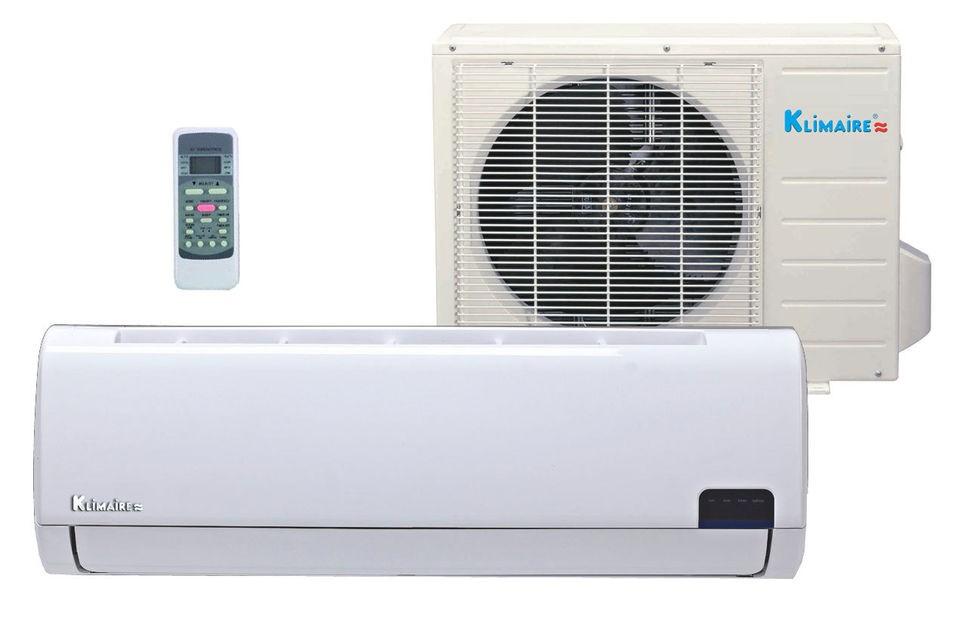 12,000 Btu Klimaire 19 SEER DC Inverter Ductless Mini split Heat Pump