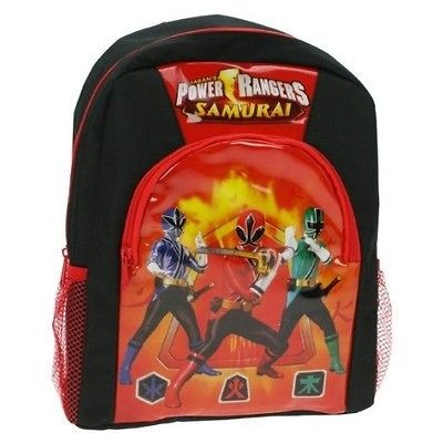 Power Rangers Samurai School Bag Rucksack Backpack Brand New Gift