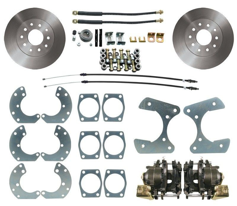 Ford 9 High Performance Rear Disc Brake Conversion Kit. Universal Fit