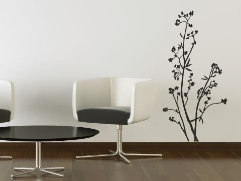 Tree Wall Paper Art Sticker Decor Decal Sticker   Japanese Tree
