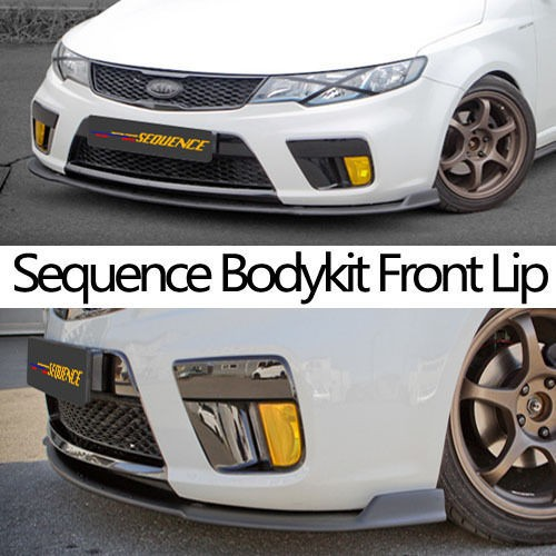 Front Lip FRP Unpainted for 2010 2011 Forte Koup (Fits Kia Forte