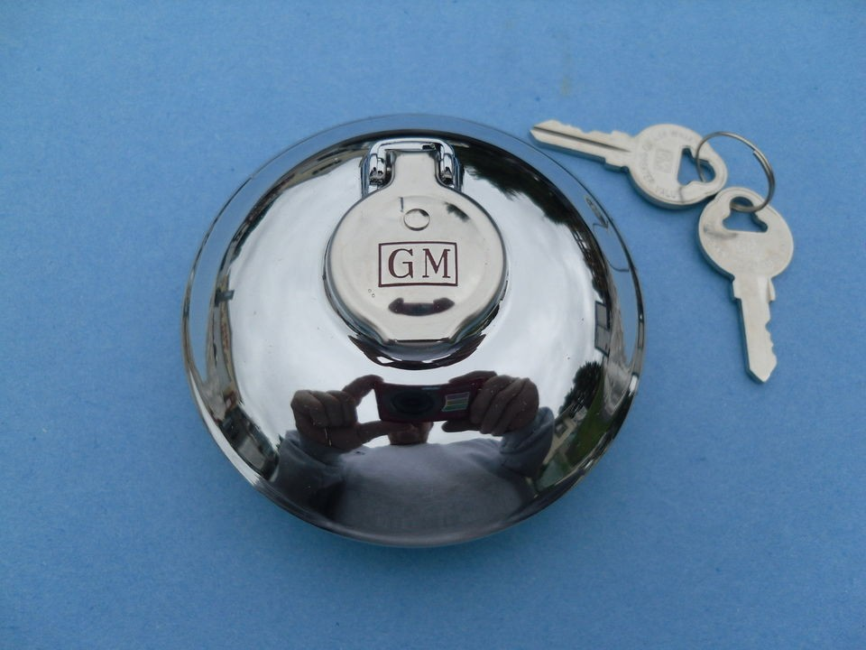 56 1957 57 1958 58 CHEVROLET GMC TRUCK GM ACCESSORY LOCKING GAS CAP