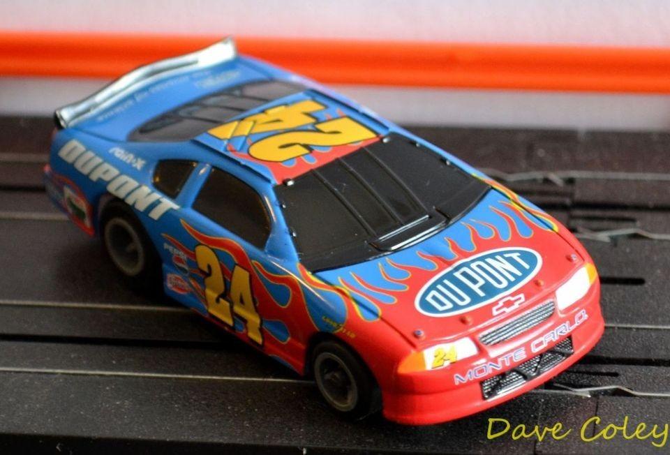Tyco AFX tomy Dupont Monte Carlo NASCAR Jeff Gordon 2004 HO