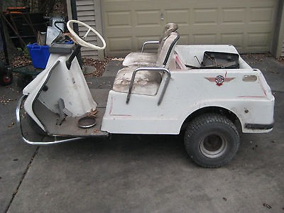 electric harley davidson golf cart for parts