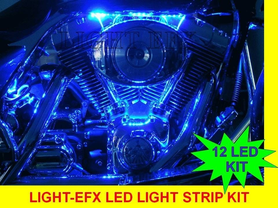 BLUE LED LIGHT STRIP KIT YAMAHA V MAX ROADLINER