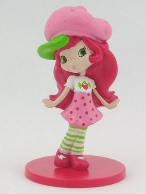 Newly listed Strawberry Shortcake Mini Figure Cake Topper Play Display