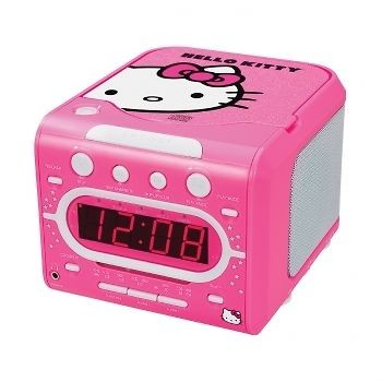 Newly listed HELLO KITTY PINK KIDS GIRLS TOP LOADING STEREO CD PLAYER