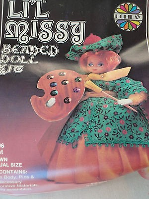 Vintage Lil Missy Beaded Doll Kit  Artist