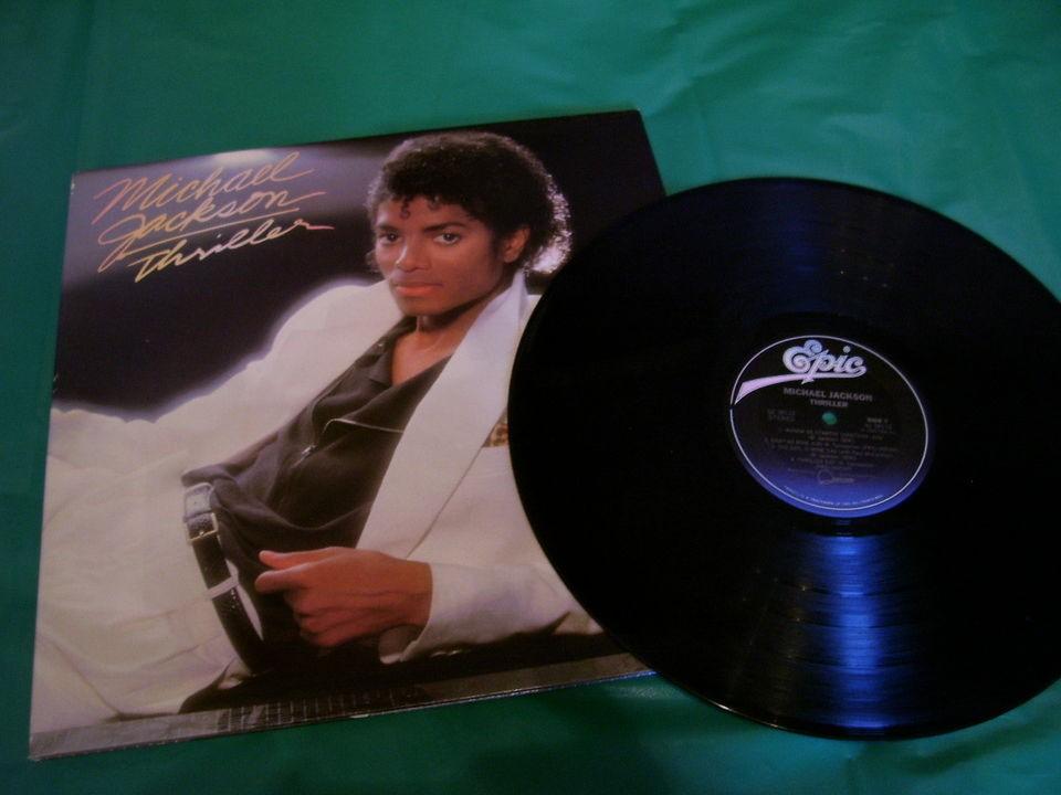 MICHAEL JACKSON Vinyl LP Album Record THRILLER **SHRINK**