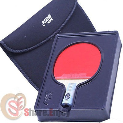 HAPPINESS SPORTS 6006 TABLE TENNIS RACKET PING PONG PADDLE 6 STARS SH