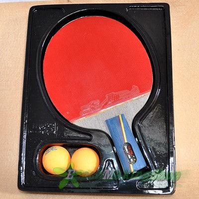 5a e Ping Pong Paddle Table Tennis Racket Short Professional 2 balls
