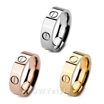 men rose gold ring in Mens Jewelry