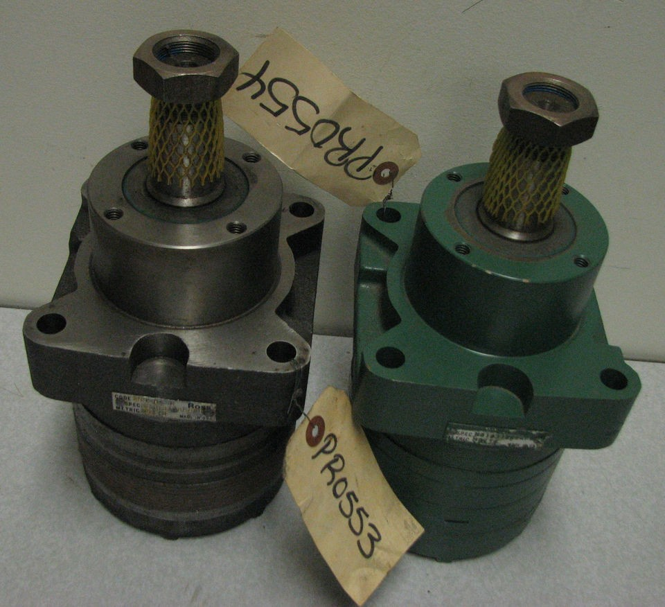 TRW Ross MB10 hydraulic wheel torque motor Bunton reel mower