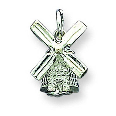 Newly listed Sterling Silver Windmill Charm. Metal Weight  2.25g