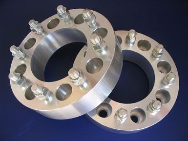 Wheel Adapters 8 Lug Chevy GMC Dually Spacers 1.5 2