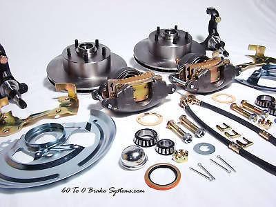 1973 GM Nova disc brake conversion Kit 73 Chevy X body
