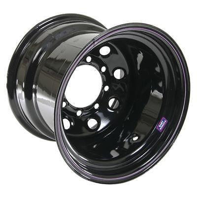 Bart Wheels Super Trucker Black Steel Wheel 15x8 8x6.5 BC