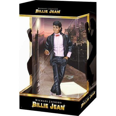 NEW PLAYMATES TOYS MICHAEL JACKSON BILLIE JEAN PV Collection Doll