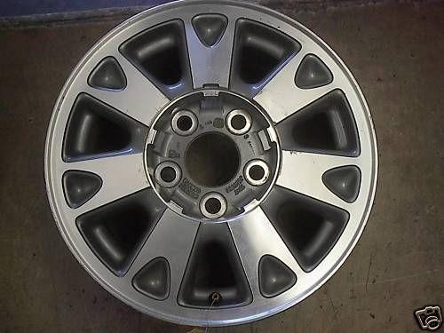 1998 98 S10 S15 Blazer Jimmy Alloy Wheel Rim 15 4X4 OE