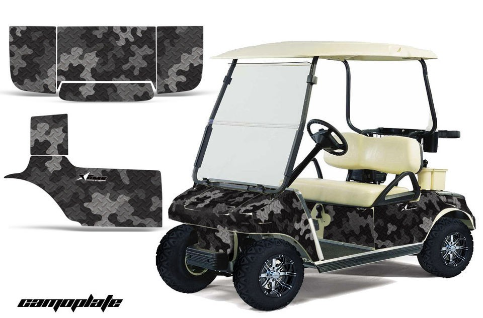 CAR GOLF CART PARTS GRAPHIC KIT WRAP AMR RACING DECALS ACCESSORIES