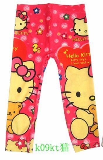 NewCute Hello Kitty Girls Clothing Kids Pants