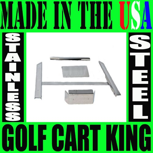 Club Car Golf Cart Stainless Steel Accessories Kit
