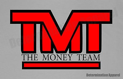 Floyd Mayweather jr T Shirt  THE MONEY TEAM  HBO 24/7 Boxing