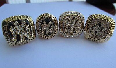 New York Yankees 96 98 99 20 World Series Championship Ring MLB