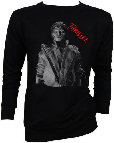 Michael Jackson MJ King of Pop Thriller Beat It Moon Walk Sweater