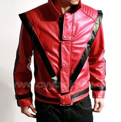 michael jackson red jacket in Clothing,