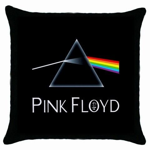pink floyd dark side throw pillow case new from hong