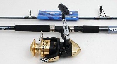 Shimano Socorro 8000 Saltwater Spin Fishing Reel, 8ft Rod NEW