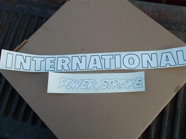 INTERNATIONAL HARVESTER Case IH With Mud Flap Girls Vinyl Decal