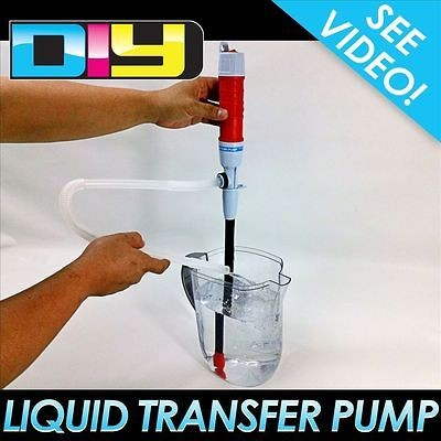 Battery Operated Liquid Transfer Pump Syphon Tool for Non Drinking