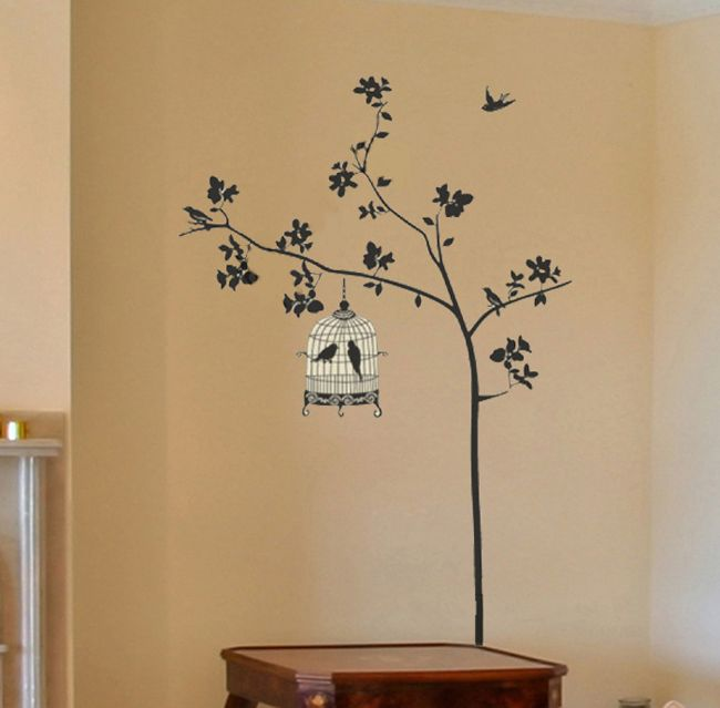 Tree Removable Wall Sticker Home Decor Decal Art Large Size