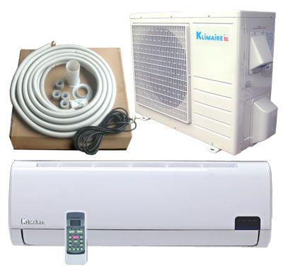 KLIMAIRE Inverter Ductless Mini Split Heat Pump Air Conditioner 16SEER