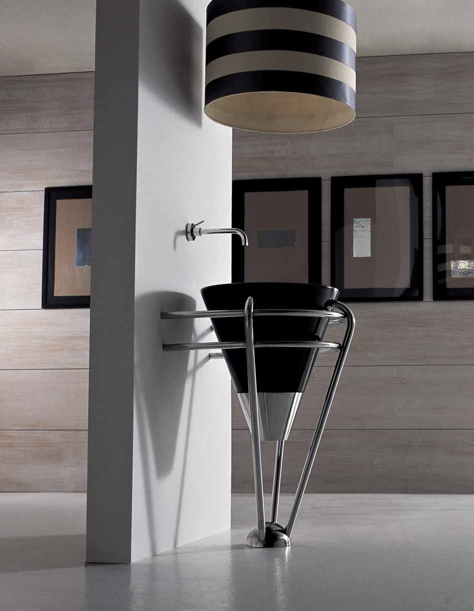 Althea Hera Kono Steel Design Modern Washbasin Italian