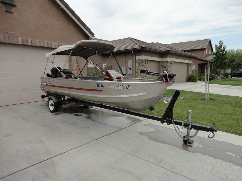 14 ft aluminum fishing boat gamefisher 15 hp for 14 ft fishing boat
