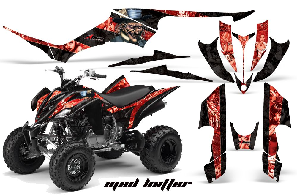 AMR Racing Quad Graphic Yamaha Raptor 350 Sticker Kit I