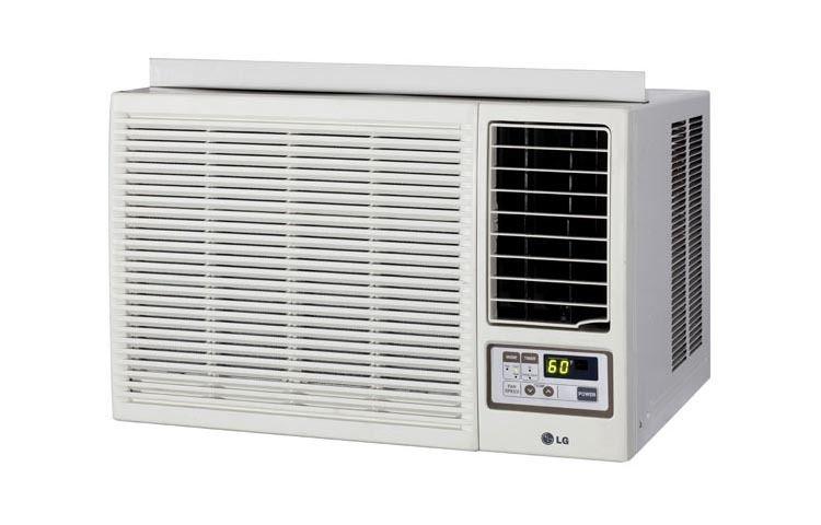 LG 18 000 BTU Heat Cool Window Air Conditioner with Remote