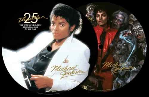 Michael Jackson Thriller 25th Ann Picture Disc RARE LP