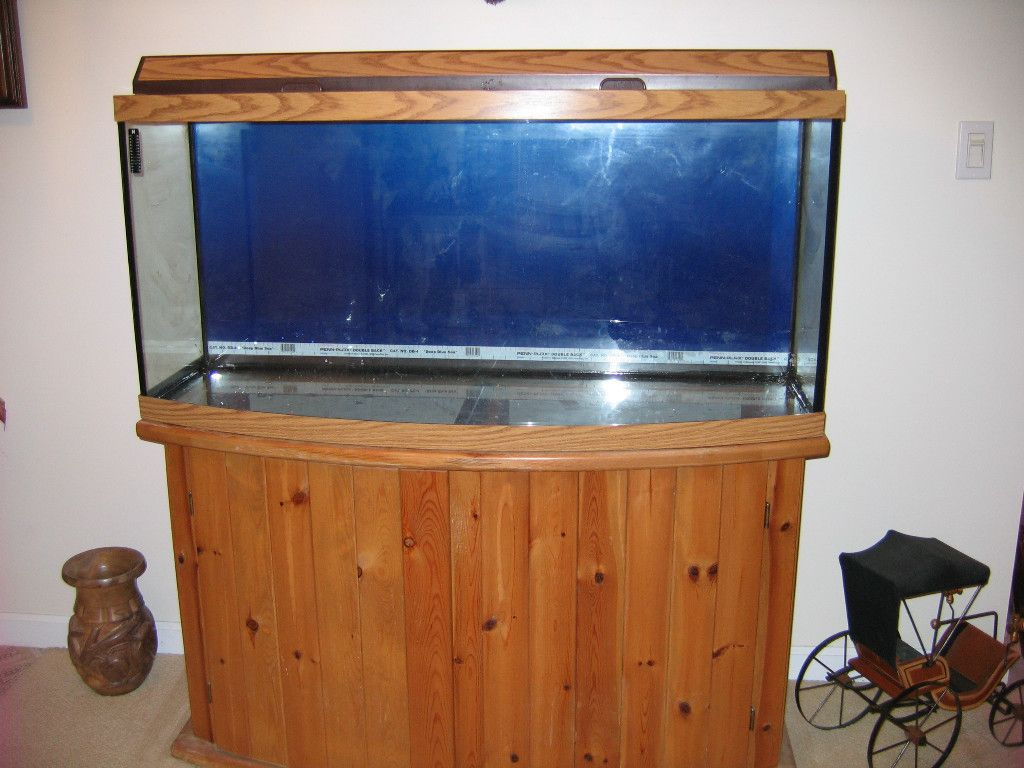 46 gallon bowfront stand related keywords 46 gallon for Fish tank hood