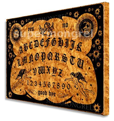Limited Witchboard Movie Ouija Board Canvas Wall Art