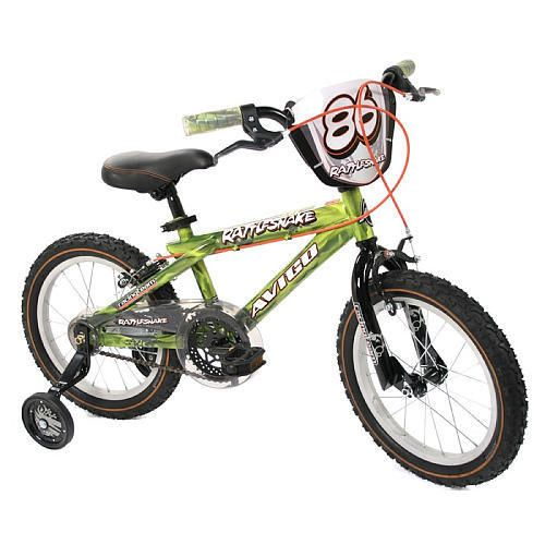 Avigo 16 inch Rattle Snake BMX Bike Boys