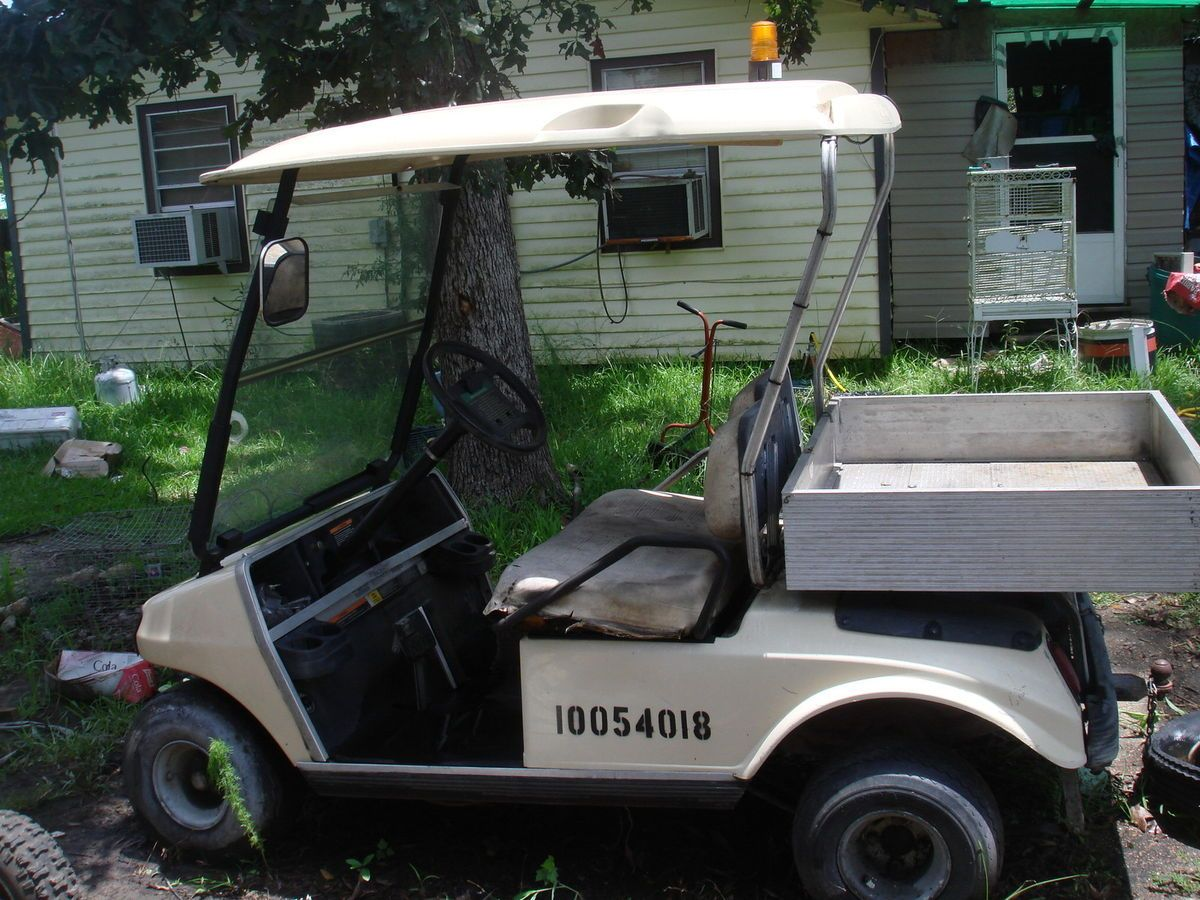 Club Car Golf Cart 4 Wheels Battery Operated not Working for Parts
