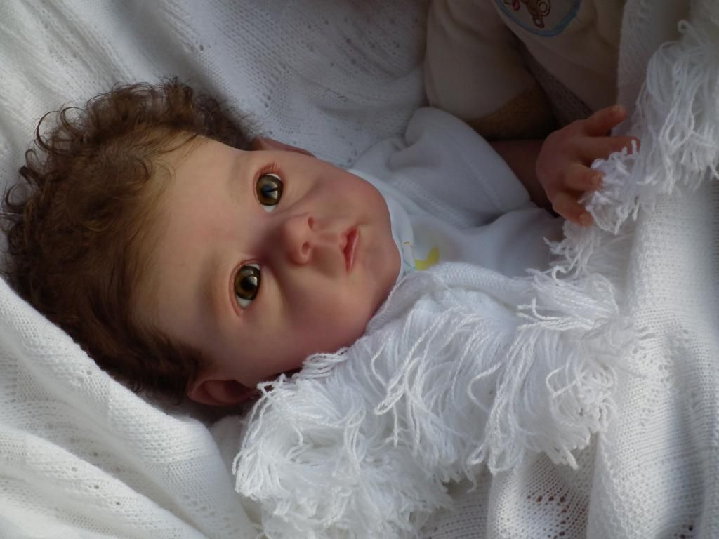 Baby Sunshine Nursery Reborn Baby Girl Doll Saoirse by Bonnie Brown