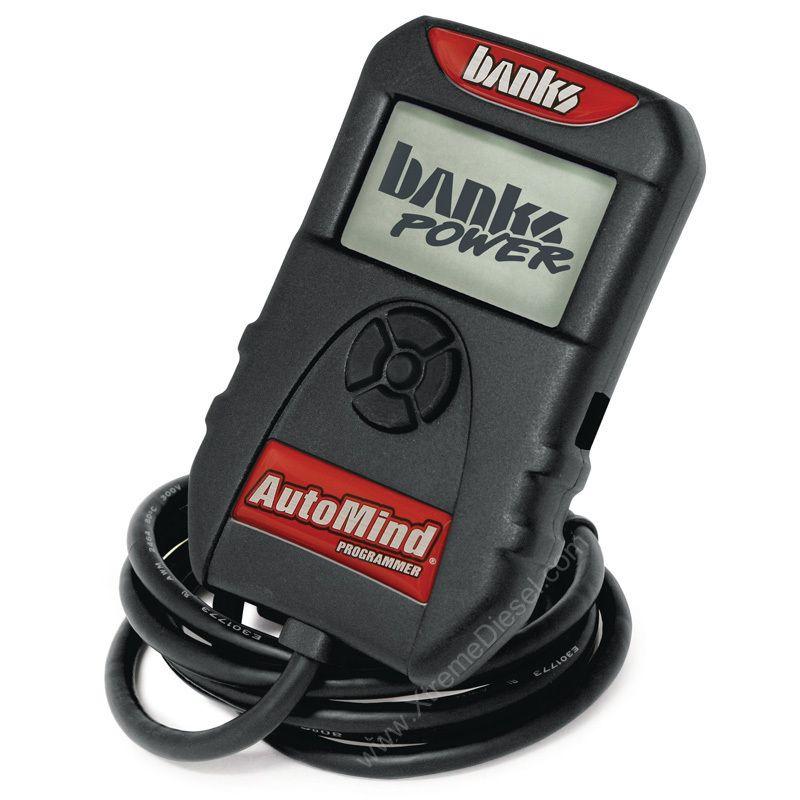 Banks AutoMind Power Programmer Tuner 98 5 07 Dodge Ram Cummins 5 9L